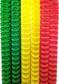 product image for 6-Piece Rasta Themed Oval Party Garlands, 12 Foot