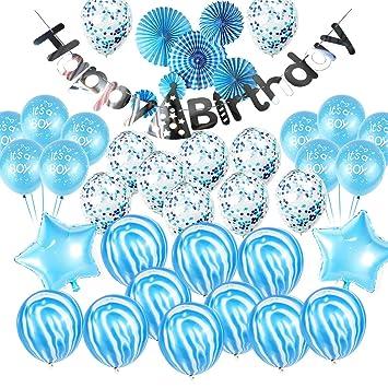 Keleily 39 Kits de Decoraciones de cumpleaños para niños ...
