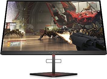 Monitor HP OMEN X 25f 240Hz Full HD Gaming (1920 x 1080) 1 ms, AMD Free-Sync, Compatible con G-Sync (1 DP, 2 HDMI, 2 USB), Negro: Amazon.es: Electrónica