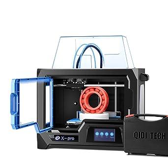 QIDI TECH impresora 3D, X-Pro impresora 3D con función WiFi ...