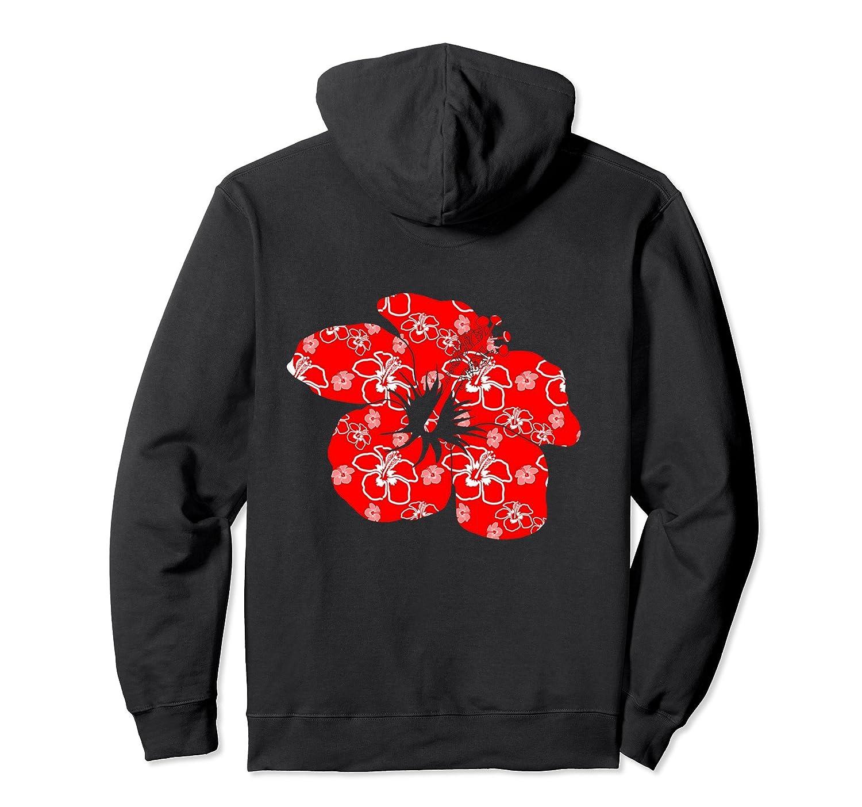 Red hibiscus hawaiian flower hawaii pullover hoodie alottee gift red hibiscus hawaiian flower izmirmasajfo