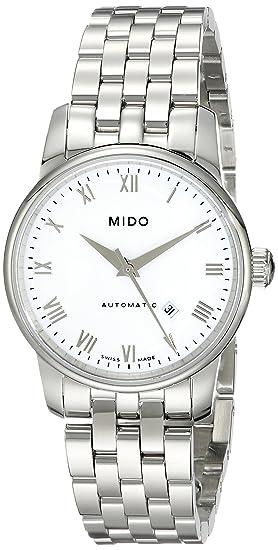 MIDO Baroncelli Ii Ø 29mm M76004261 - Reloj de mujer automático, correa de acero inoxidable