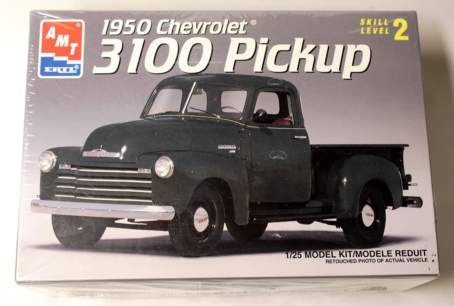 1950 Chevrolet 3100 Pickup 1 25 Model Kit By Amt Toys 1949 Chevy Truck 5 Window Games