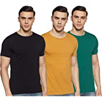 Amazon Brand - Symbol Men's T-Shirt (Combo Pack of 3)