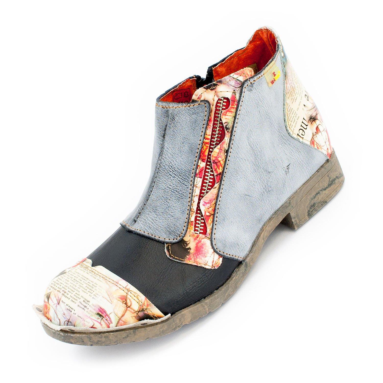 TMA scarpe, Stivali donna multicolore grigio blu 36 36 36 55476f
