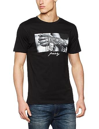 Mister Tee Herren Pray 2.0 Tee T Shirt