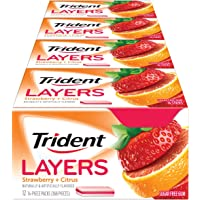 12-Pack Wild Strawberry & Tangy Citrus Trident Layers Sugar Free Gum