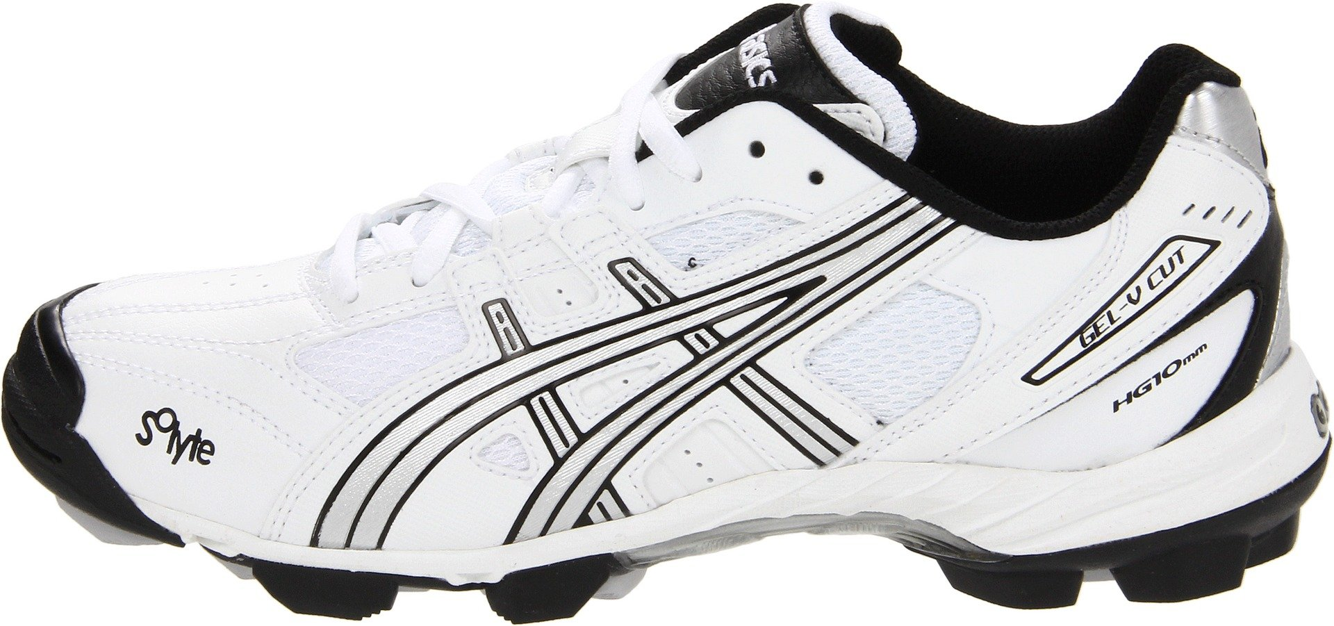 ASICS Women's GEL-V Cut Field Shoe,White/Silver/Black,12 M by ASICS (Image #5)