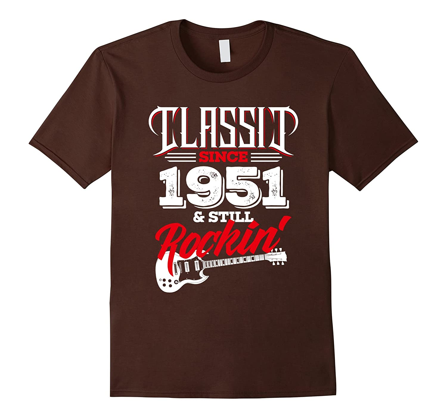 66 Years Old Gifts - 66th Birthday Classic Since 1951 TShirt-T-Shirt