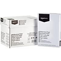 AmazonBasics Multipurpose Copy Paper A4 80gsm, 5x500 Sheets, White