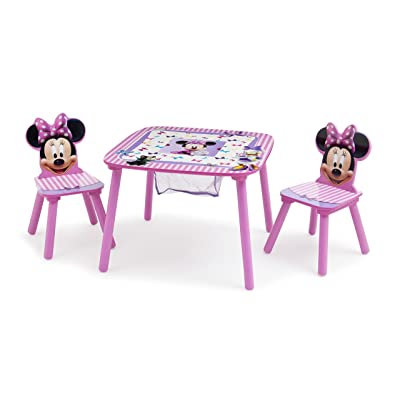Delta Children Disney Minnie Mouse Storage Table and Chairs Set: Kitchen & Dining