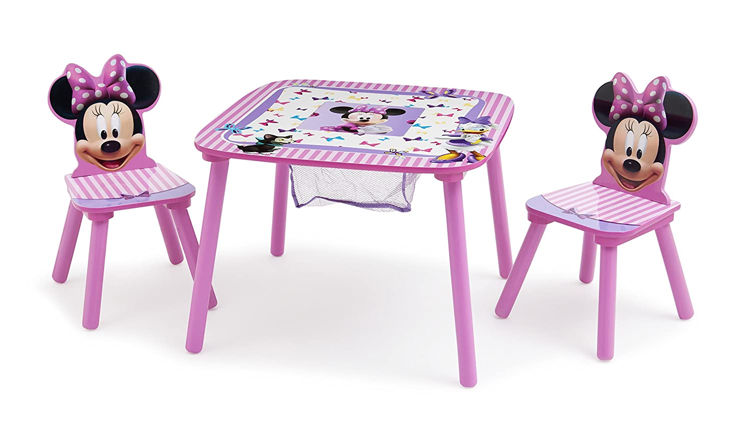 Outstanding Disney Minnie Mouse Storage Table And Chairs Set Delta Children Pdpeps Interior Chair Design Pdpepsorg