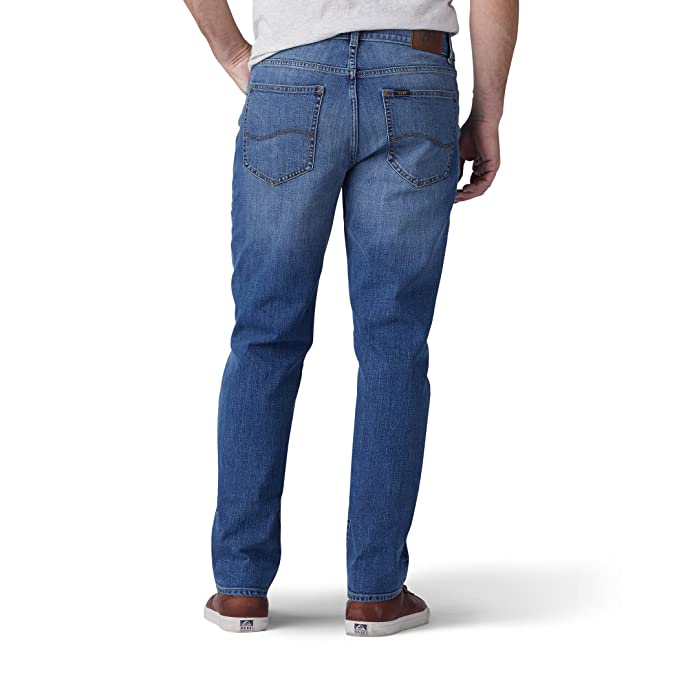 a7254ebc LEE Men's Modern Series Regular Fit Tapered Leg Jean at Amazon Men's  Clothing store: