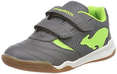 6179b43ad4 KangaROOS Chelo Comb V Chaussures Multisport Indoor Mixte Enfant, ((Steel  Grey/Lime