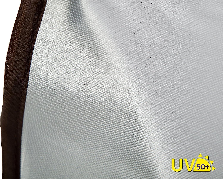 Marron AltaBeBe Ombrelle Anti Soleil pour Poussette Universel Anti-UV 50