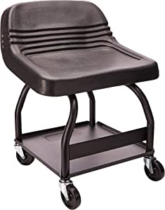 USA Made - Professional HD Mechanic's Seat (HRS) - by Whiteside Manufacturing , seat design may vary .