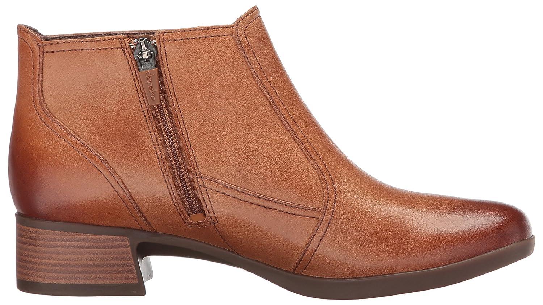 Dansko Women's M Liberty Ankle Bootie B01MR0VB8E 37 EU/6.5-7 M Women's US|Saddle Burnished Nappa 40a0eb