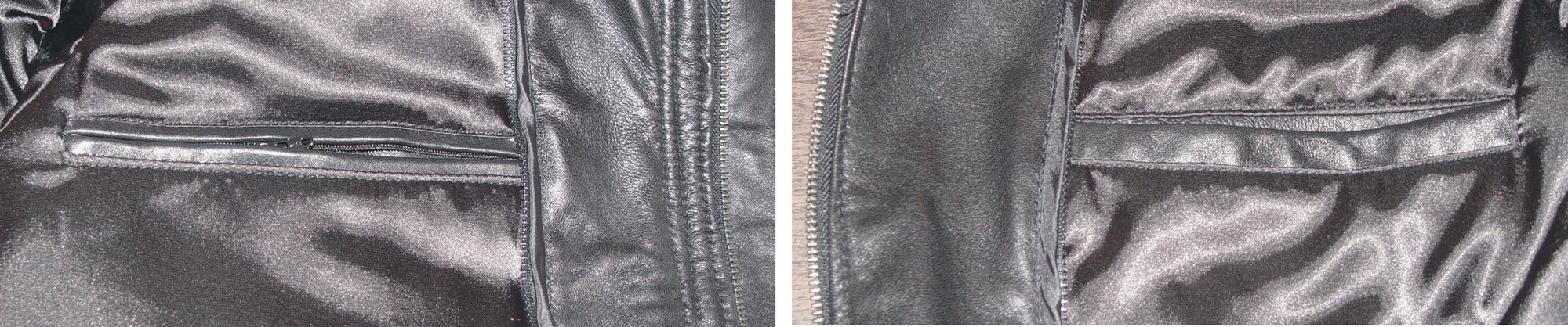 Nettailor 1095 Real Lamb Fine Leather Fitted Sports Blazer Pea Coat by NETTAILOR (Image #6)
