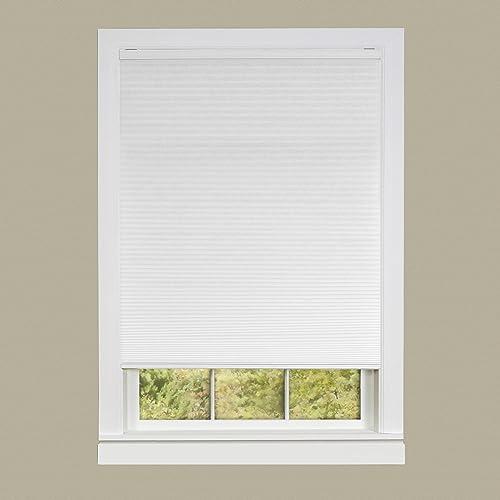 Achim Home Furnishings Cordless Honeycomb Cellular Pleated Window Shade