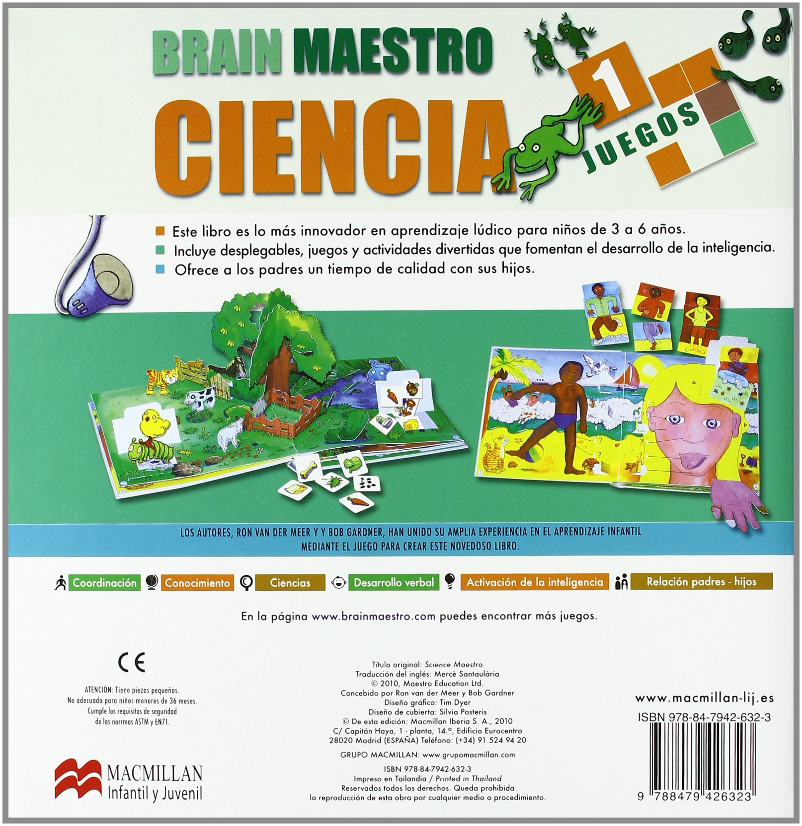 Brain Maestro Ciencia (Infantil Y Juvenil): Amazon.es: Van ...
