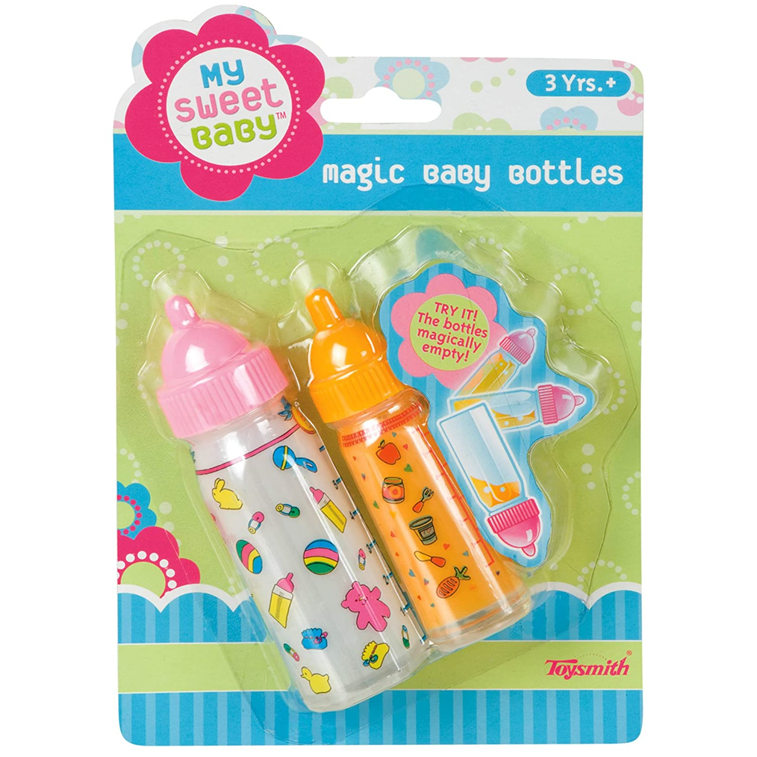 Amazon.com: Toysmith My Sweet Baby Magic Baby Bottles: Toys & Games
