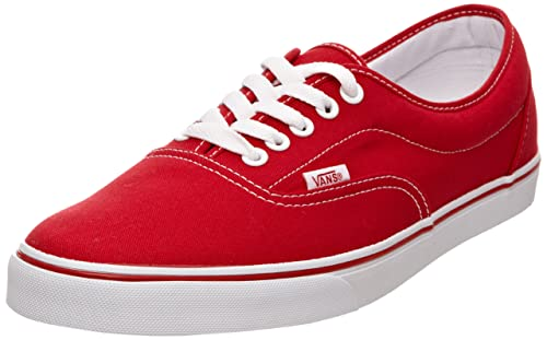 Vans Lpe Canvas, Unisex-Adults' Trainers, Red, ...