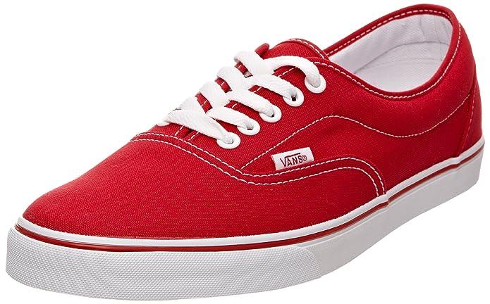 Vans LPE Unisex-Erwachsene Sneakers Rot