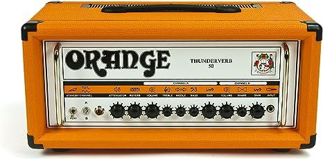 Orange TV 50 H Thunderverb cabeza de amplificador de válvulas ...