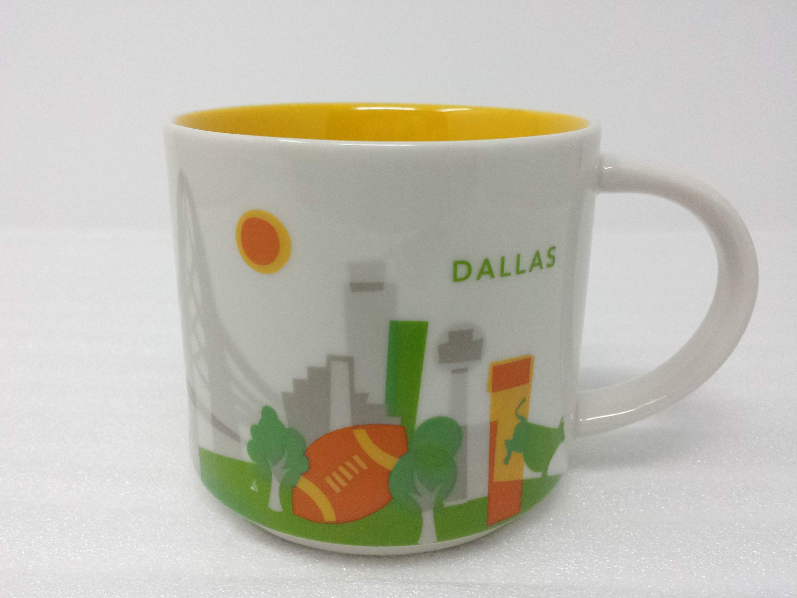 Starbucks You Are Here Collection 14 oz Coffee Mug Dallas