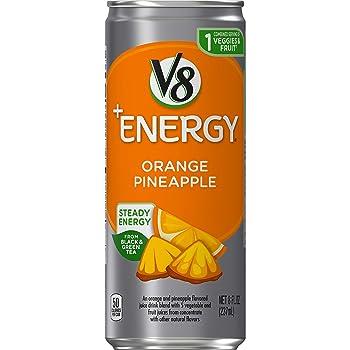 V8 +Energy Healthy Energy Orange Pineapple Drink