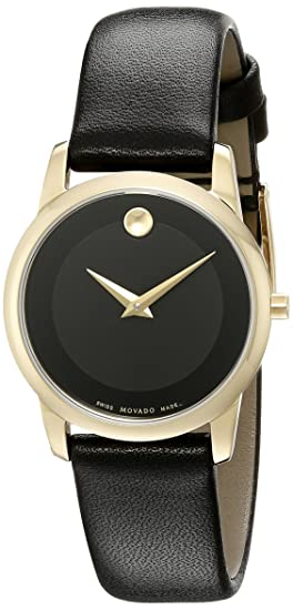 729eebca349268 Image Unavailable. Image not available for. Colour: Movado 0606877 Women's  Classic Museum Wrist Watch
