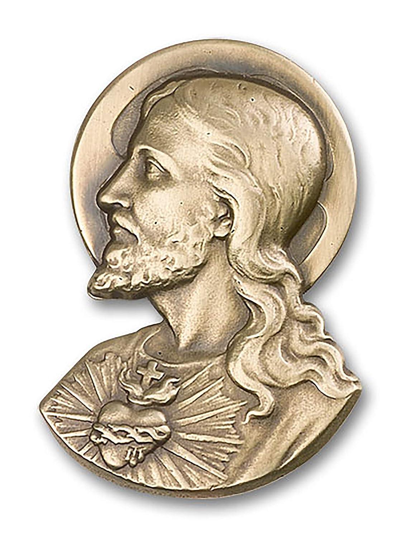 ST VILLAGE GIFT IMPORTERS Antique Brass Visor Clip Anthony