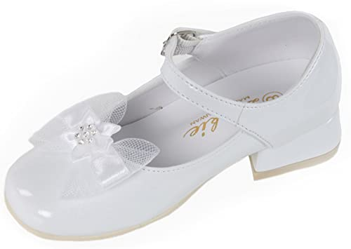 31f49f5d2505d White Patent Leather Flower Girl Mary Jane Shoes