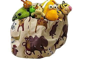 Amazon Com Msb Stuffed Animal Storage Bean Bag Chair Giant Bean