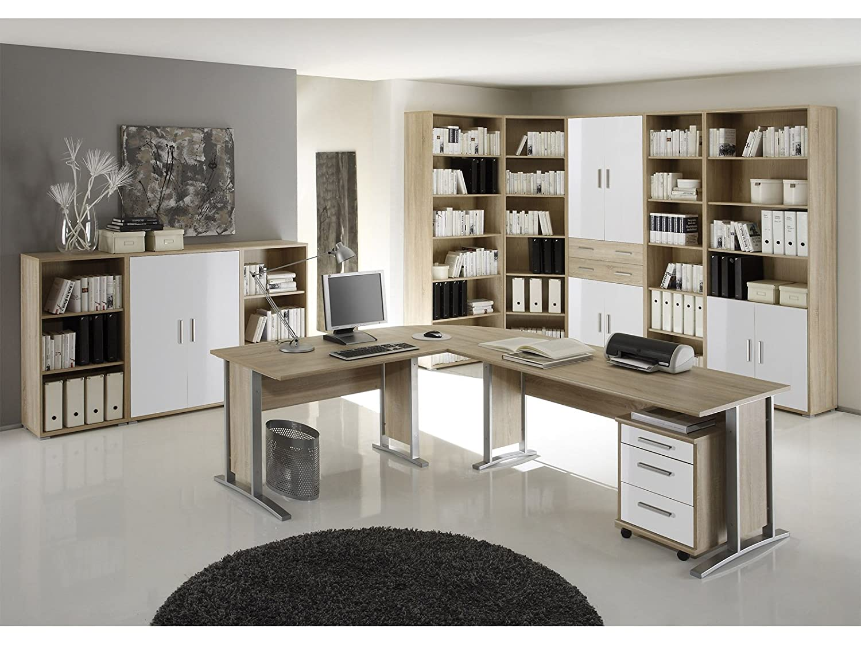 Schreibtisch Kombination Winkelschreibtisch Bürotisch Arbeitstisch I