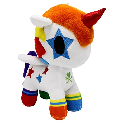 Toki Doki Bowie Unicorno Plush Toy, Medium by Tokidoki