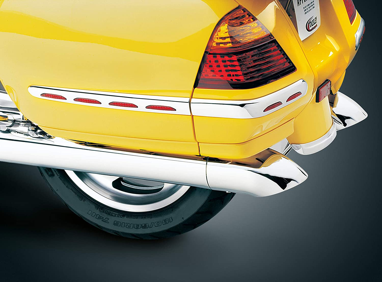 Chrom Umlegekr/ümmte Auspuffverl/ängerungen f/ür Honda Gold Wing GL1800 /& F6B Motorr/äder 1 Paar Kuryakyn 7606 Motorrad Accent Zubeh/ör