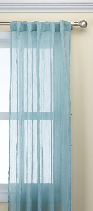 Madison Park Harper Curtain Pair, Aqua, 2 Piece