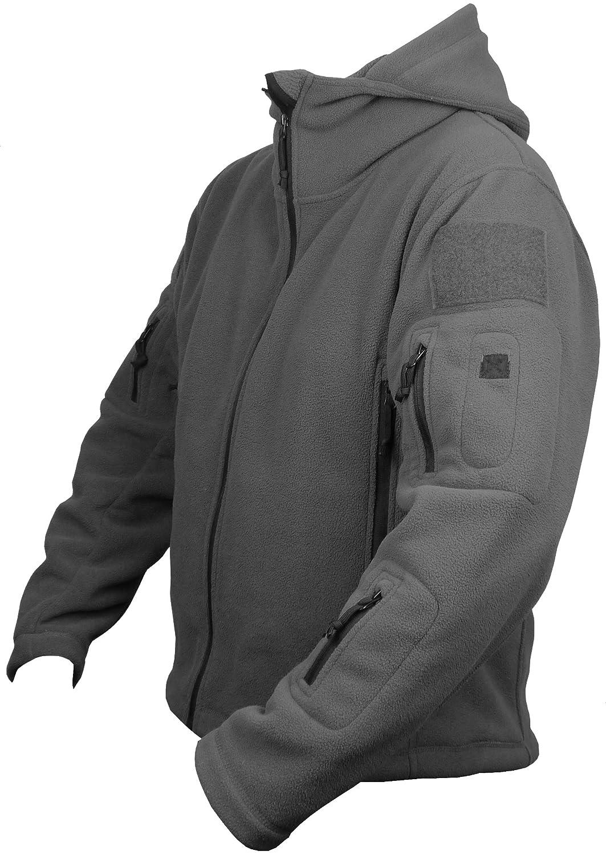 Savage Island Herren Fleece Hoodie Jacke Winter Warm Outdoor Milit/är Army Jagd Taktisch Paintball Wandern Sport Wintersport