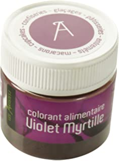 les artistes paris a 0405 colorant alimentaire violet myrtille - Colorant Alimentaire Blanc