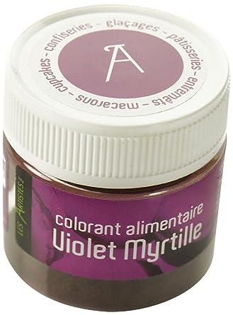 les artistes paris a 0405 colorant alimentaire violet myrtille - Colorant Les Artistes