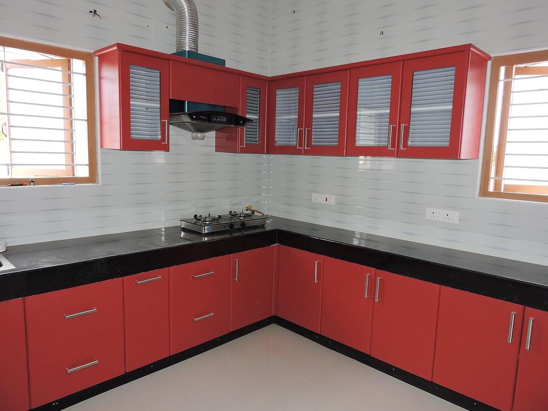 Elegant Modular Kitchen Small Size Amazon In Home Kitchen
