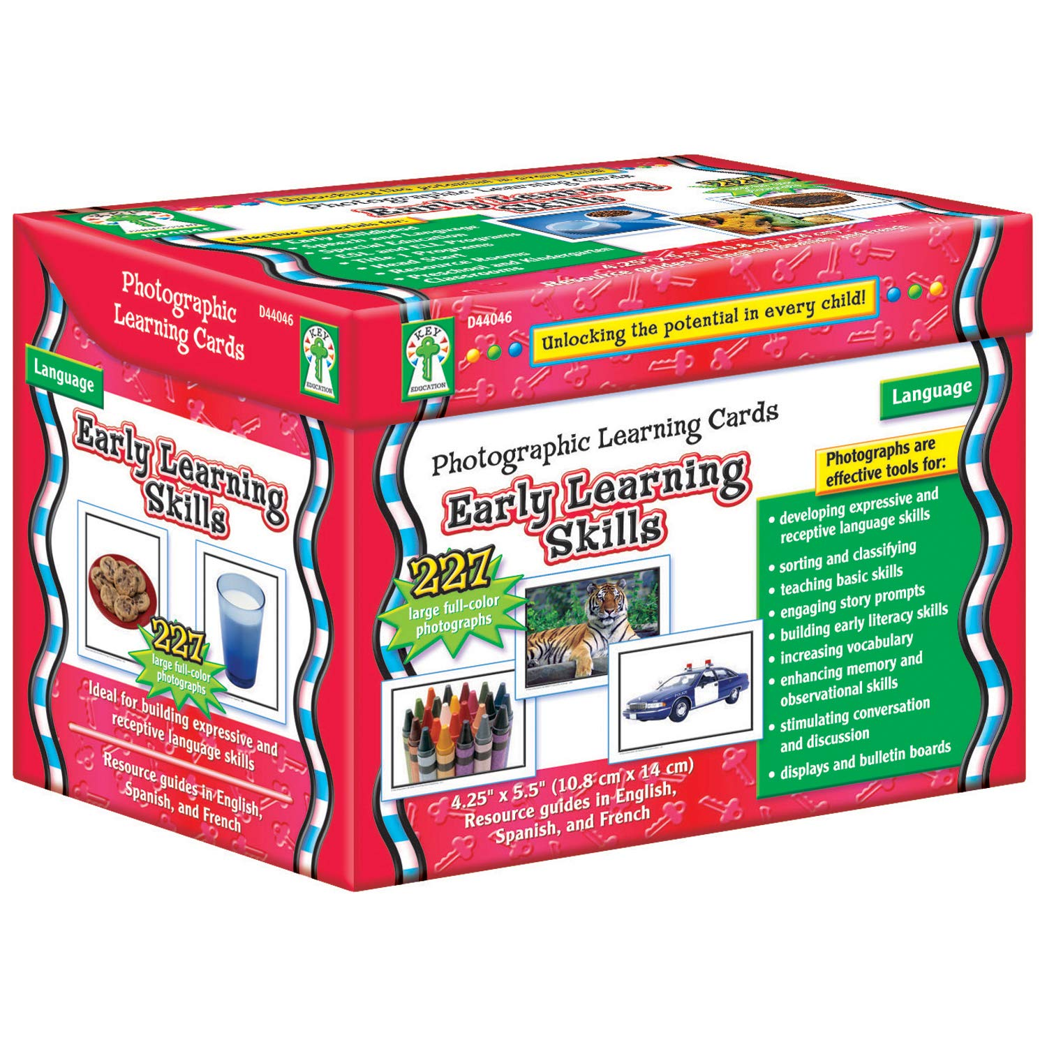 Carson Dellosa Early Learning Skills/Learning Cards (D44046) by Carson-Dellosa