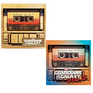 Guardians Of The Galaxy Vol. 1 and Vol. 2 - Movie Soundtrack Bundling 2 CDs