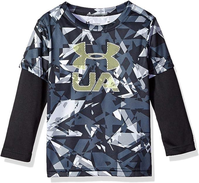 Under Armour Boys Long Sleeve Graphic Tee Shirt