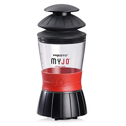 .com: presto 02835 myjo single cup coffee maker, black ...