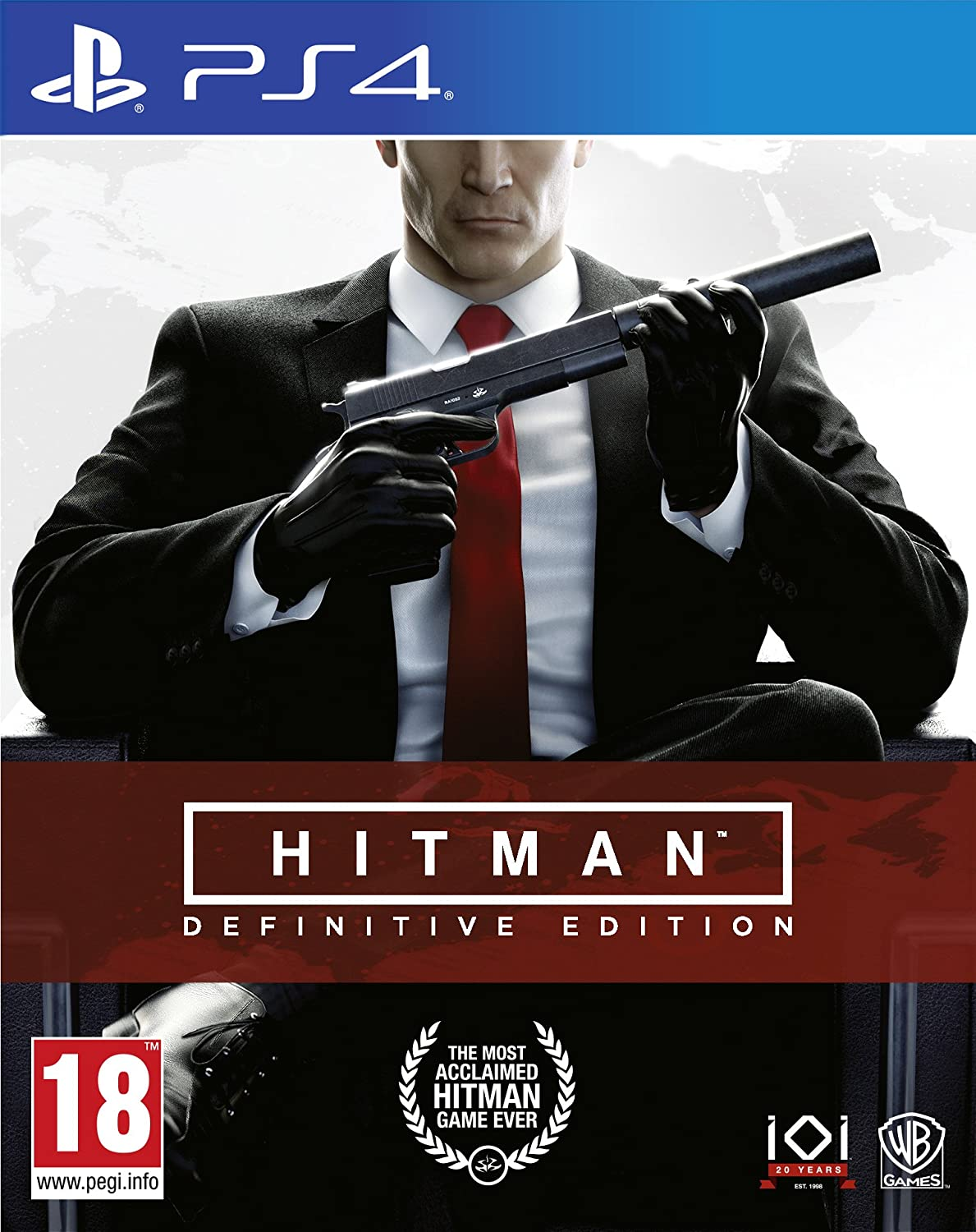 Hitman Definitive Edition Ps4 Amazon In Video Games