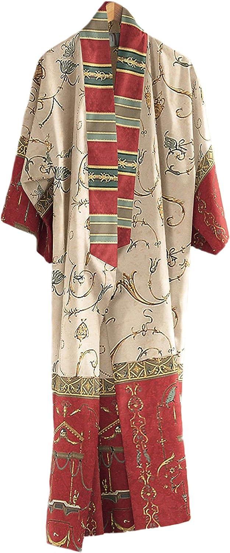 Bassetti Oplontis Kimono Coton Rouge S-M