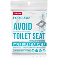 Peebuddy Disposable Paper Toilet Seat Covers (20 Sheets)