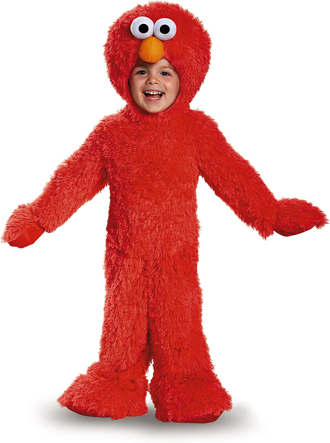 Disguise 76876W Elmo Extra Deluxe Plush Costume, (12-18 Months) by ...